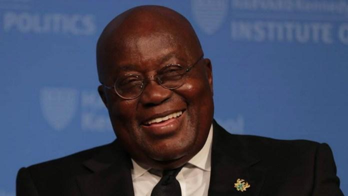 Ghana president Nana Akufo Addo