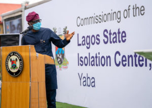 Sanwo-Olu-Unveils-150-Bed-Isolation-Centre-Built-by-CACOVID-Brandspurng-696x496