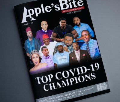 Apple's Bite International Magazine Covid-19 Celebrity Champions