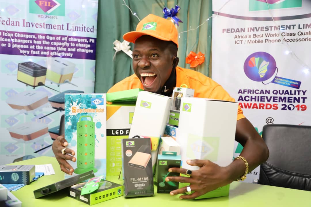Comedian Akpororo Unveiled as Brand Ambassador to Leading Electronics Company FIL