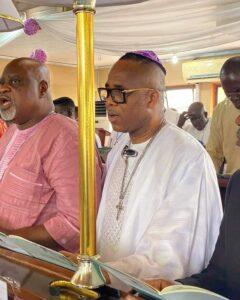 Late Bishop (Dr.) Olusola Ore and Archbishop Designate Isaac Idahosa