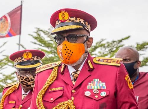 Akeredolu in Amotekun uniform 0