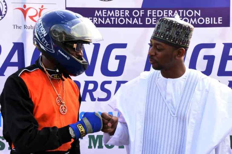Dbanj with Deputy Gov. Zamfara