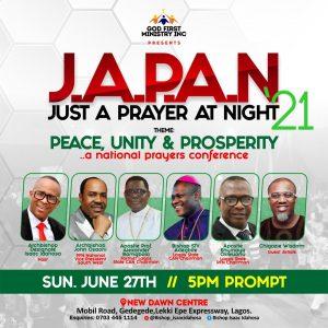 JAPAN 2021, Archbishop Designate Isaac Idahosa