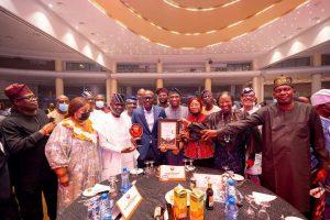 Governor Babajide Sanwo-Olu wins Vanguard Personality of the Year Award