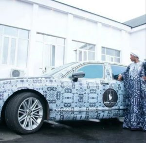 Ronke Ademiluyi Steps Up Adire Awareness Campaign, Brands Ooni 's Bentley With Adire