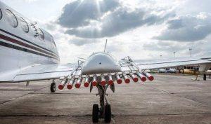 Dubai drone rain