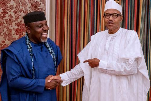Ex Imo Governor Okorocha To Build Tuition free Islamic University In Buharis