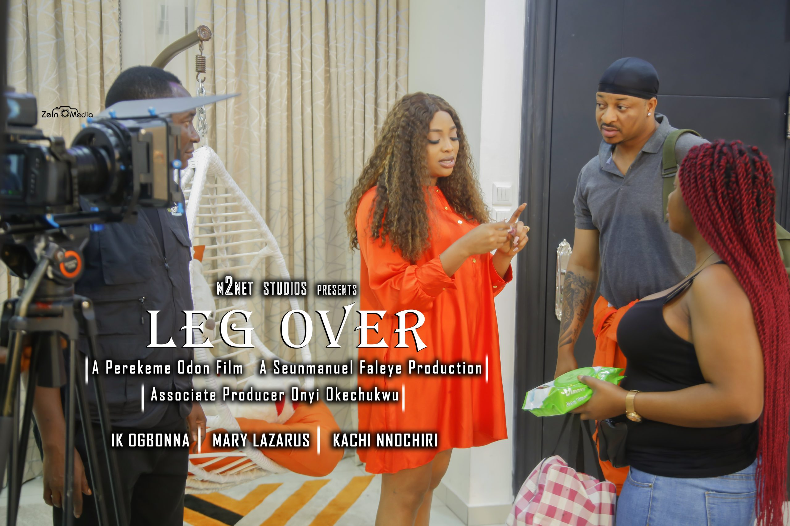 Seunmanuel Faleye Unveils Ogbonna, Lazarus, Nnochiri as Casts of romantic thriller from the stable of M2NET Studios